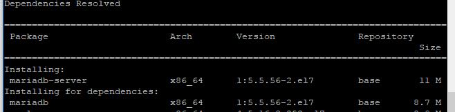 Old MySQL
