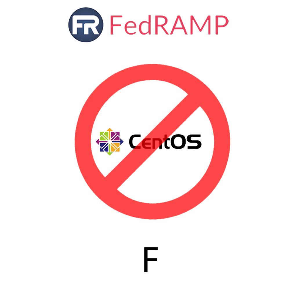 Press F for CentOS FedRAMP authorization